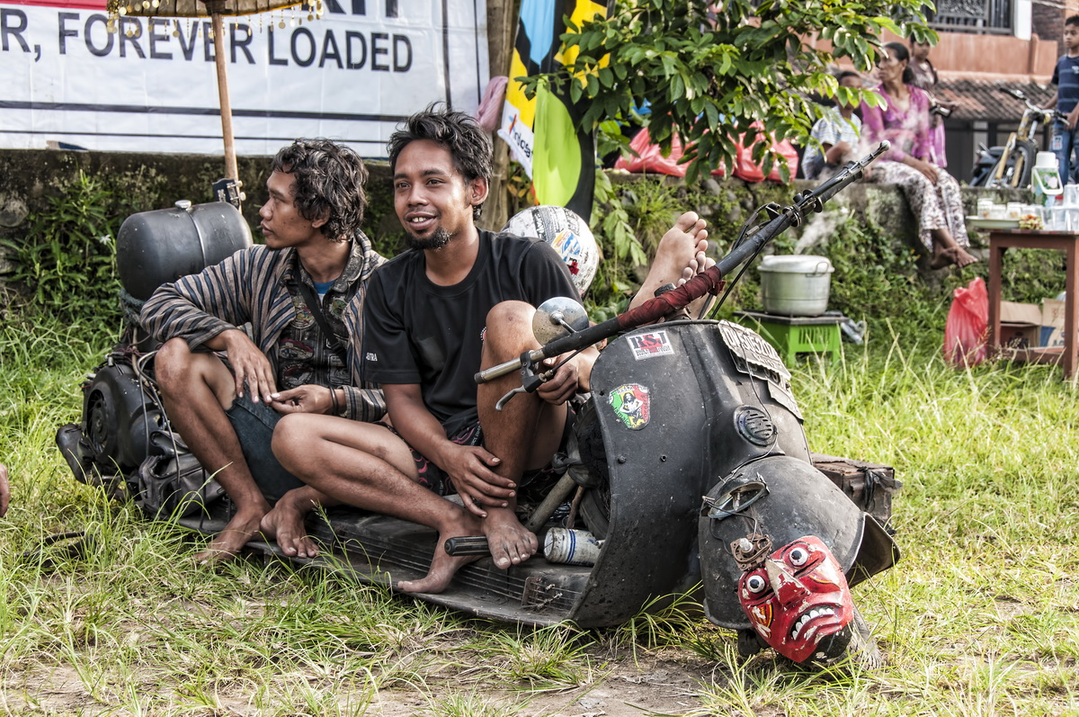 Feral Scooters – A Very Eclectic Gathering in Ubud
