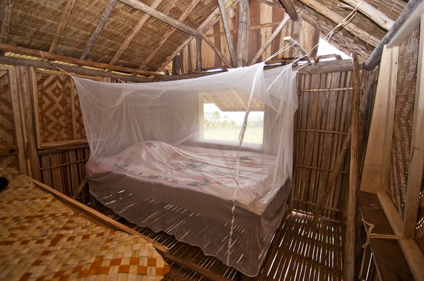 Papua New Guinea Village Homestay - My bedroom in Jackson's guesthouse