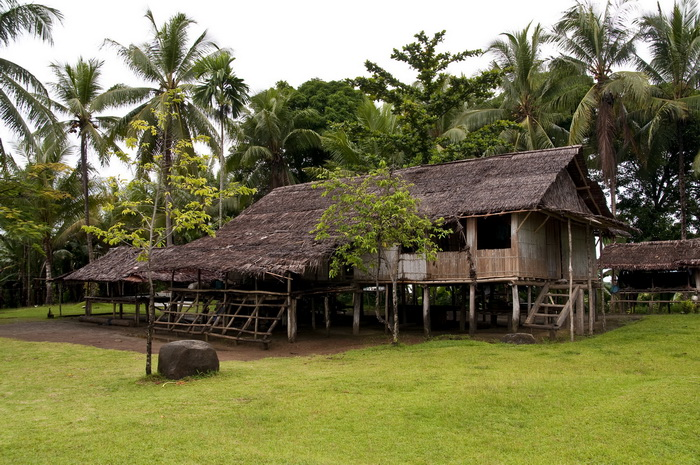 Papua New Guinea Village Homestay - House at Orotoaba village on Cape Nelson