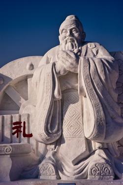 Harbin snow statue