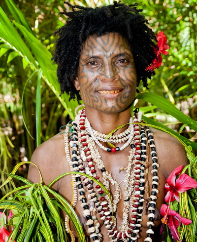 Facial tattoos of Oro Province - Oro Province Facial Tattoo