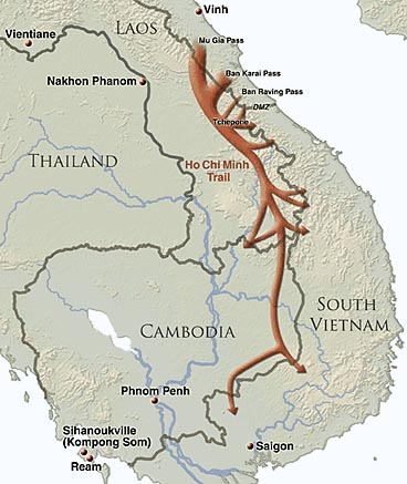 Riding The Ho Chi Minh Trail