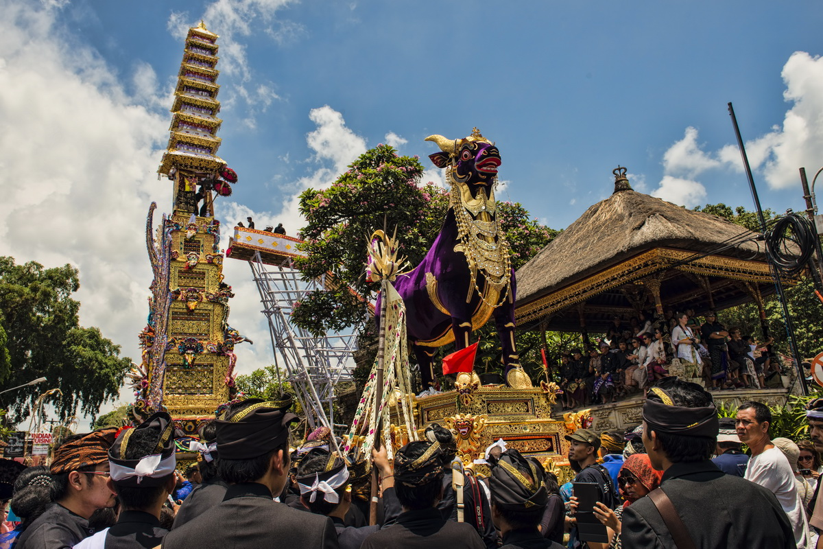 Royal Cremation in Ubud