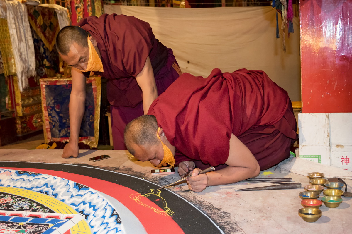 Monks and Mandalas