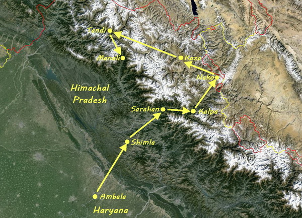 The Himalayan Circuit through Himachal Pradesh