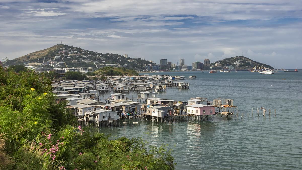 Hanuabada Stilt Village in Port Moresby
