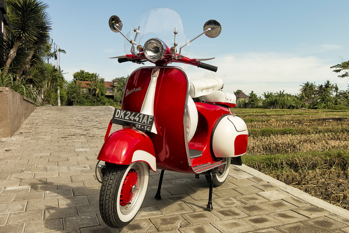 Buying a Vespa in Bali – Not Quite What it Seems!