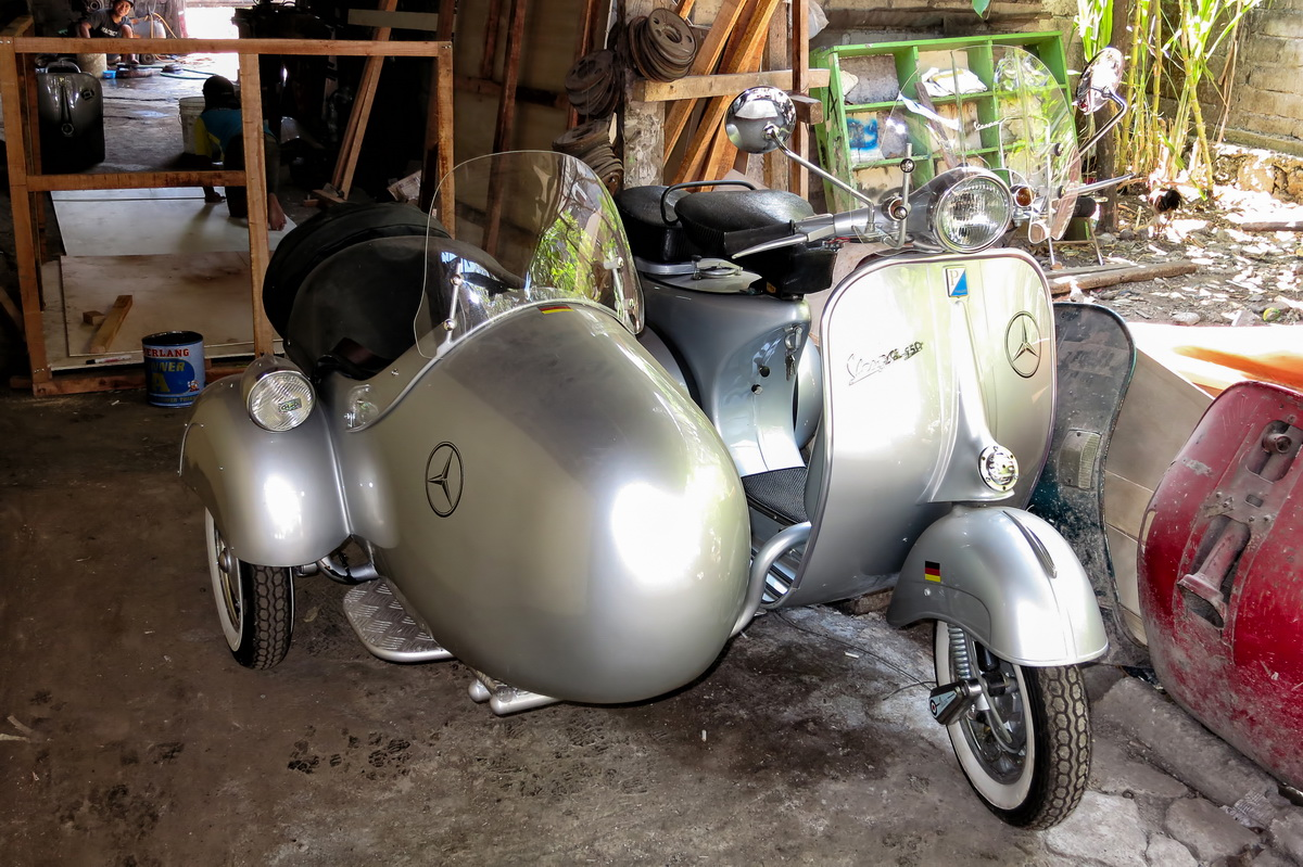 Buying a Vespa in Bali