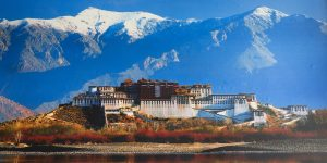 Riding Tibet - Old Lhasa