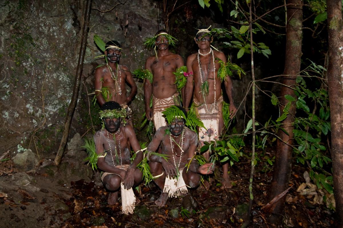 The Puri Puri men of Tufi