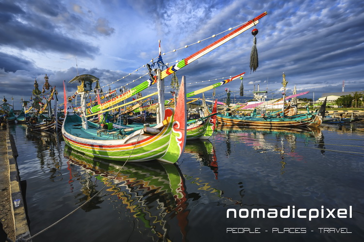 Perancak Fishing Boats