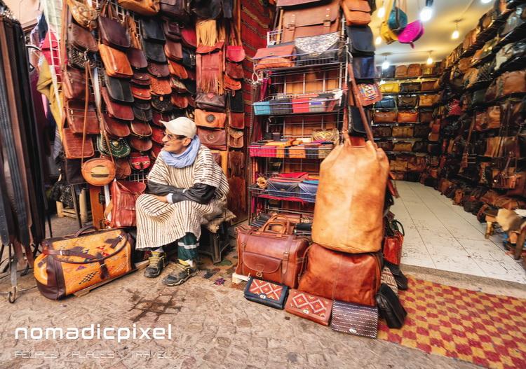 Photographing Djemaa el-Fna