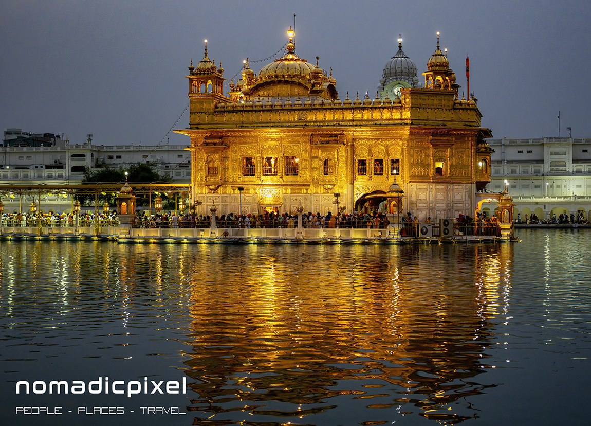 Photographing the Golden Temple