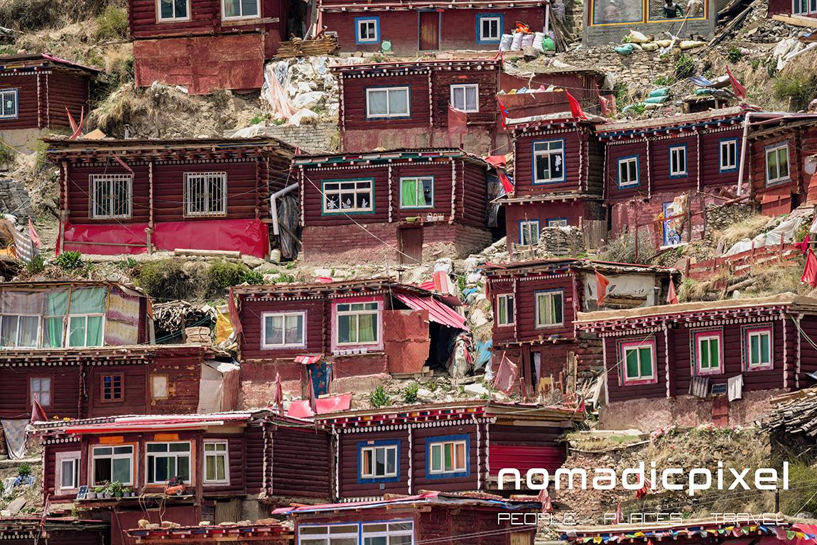 Photographing Larung Gar